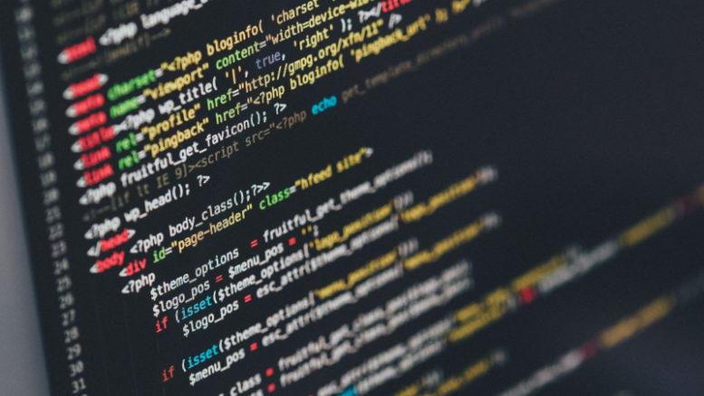 laptop screen coding